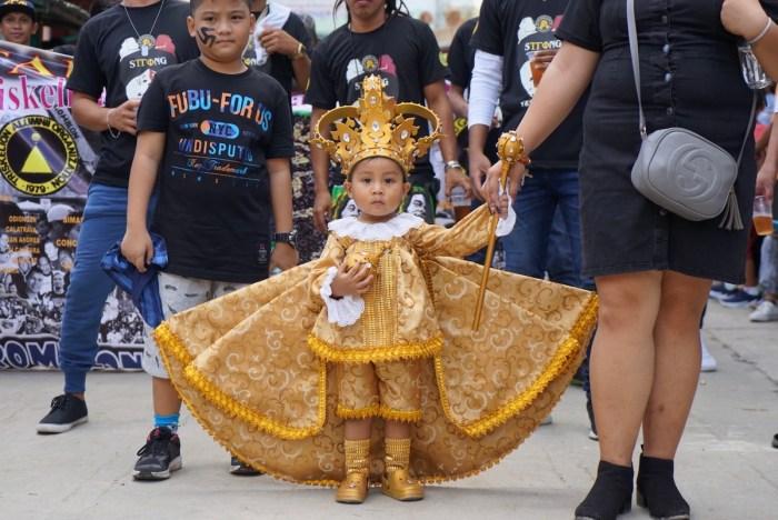 Sto Nino inspired costume