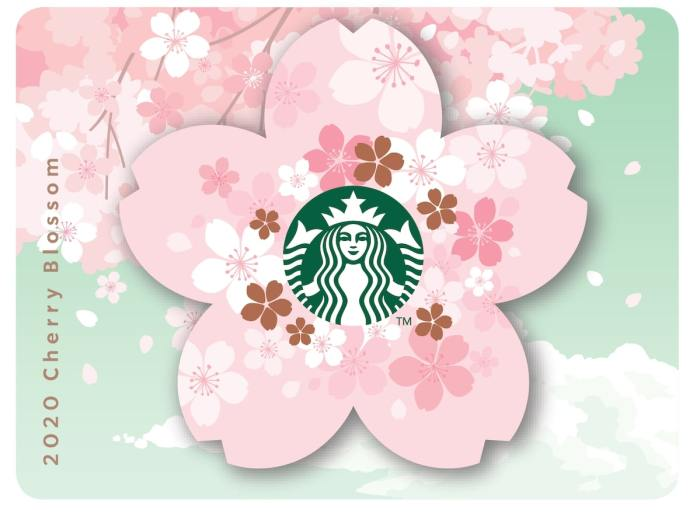 2020 Cherry Blossom Paper Card