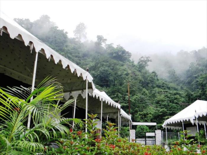 Camp Aqua Forest Resort in Rishikesh