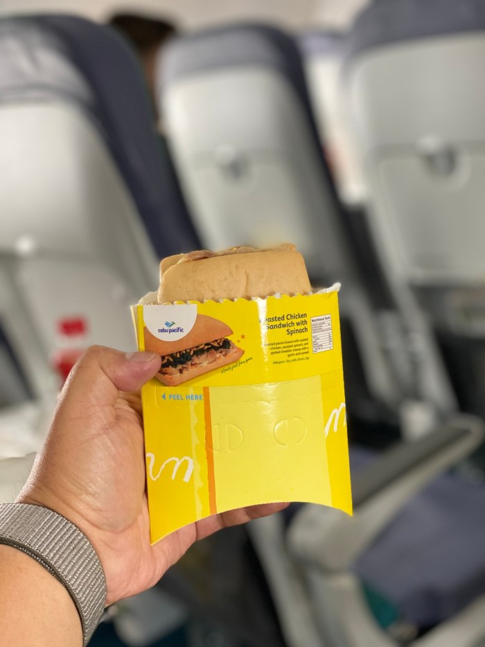 Cebu Pacific is now using sustainable packaging on their inflight meals