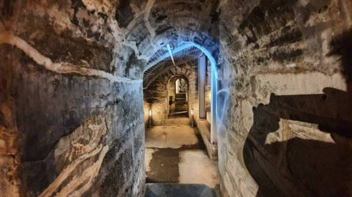 Basement of Fort Santiago, via the Intermoros Administration FB page