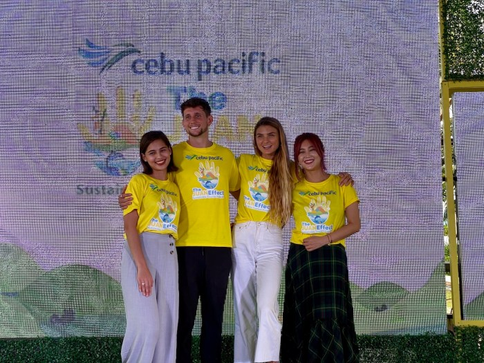 Juan Effect ambassadors and environmentalists (from the left) actress Jasmine Curtis-Smith, Canadian filmmaker Lost LeBlanc, South Korean musician and artist Solbi, and Australian yoga and fitness expert Sjana Elise
