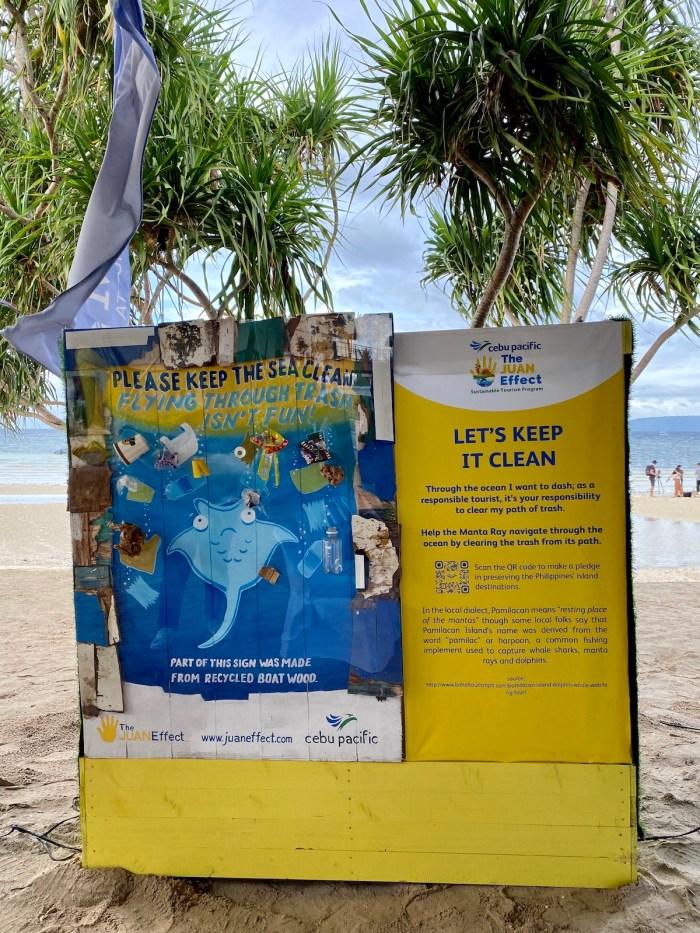 Juan Effect information campaign in Bohol