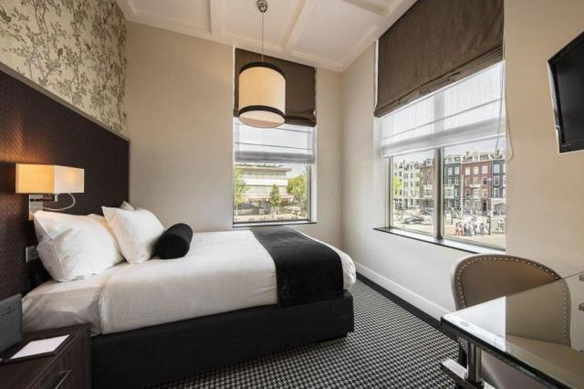 Room with a view at Boutique Hotel Notting Hill Amsterdam