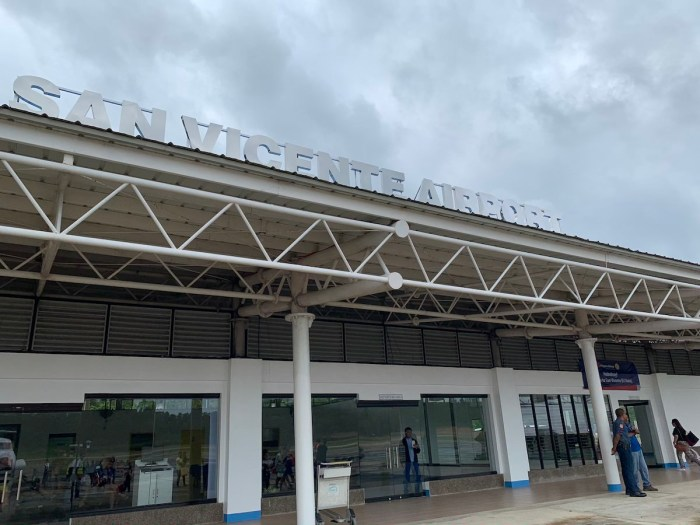 San Vicente Airport in Palawan