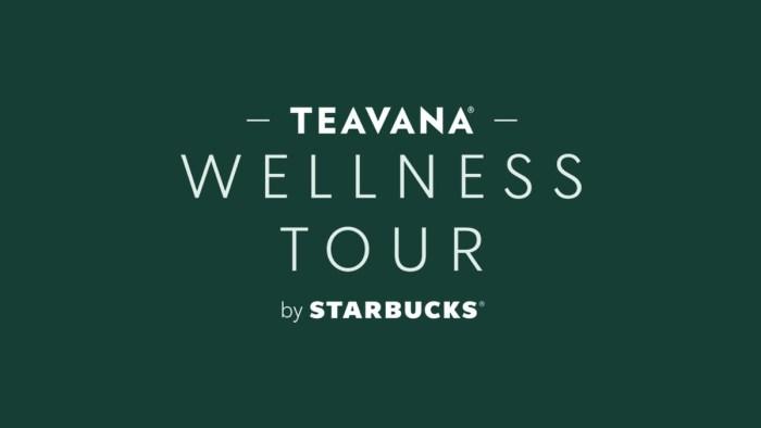 Teavana Wellness Tour by Starbucks