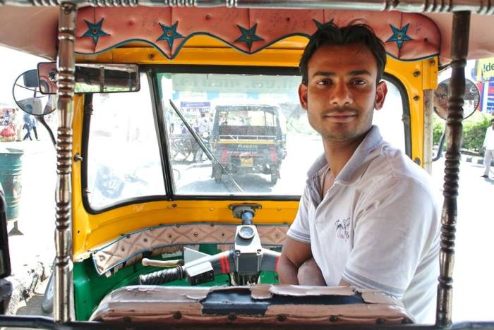Always haggle nicely with the rickshaw drivers in Jaipur. Promise, they won't get mad