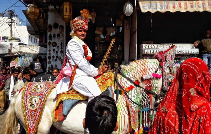 The Pushkar Camel Fair Festival is held every month of November