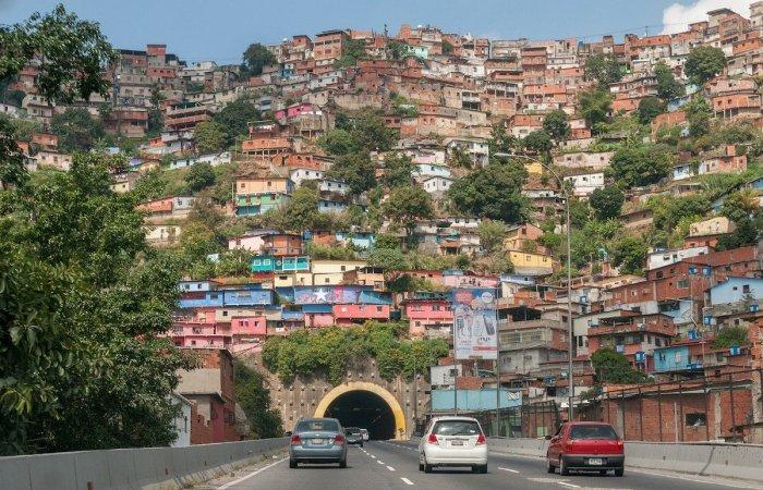 Colorful Neighborhood in Caracas Venezuela