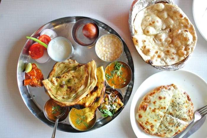 One of my favorite dish to order in Jaipur is a Thali Meal