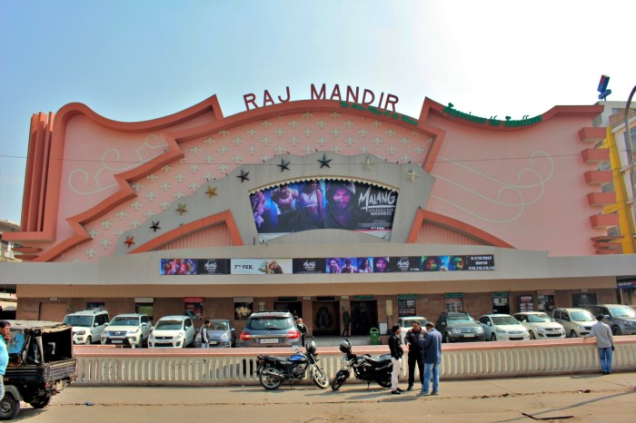 The Raj Mandir theater