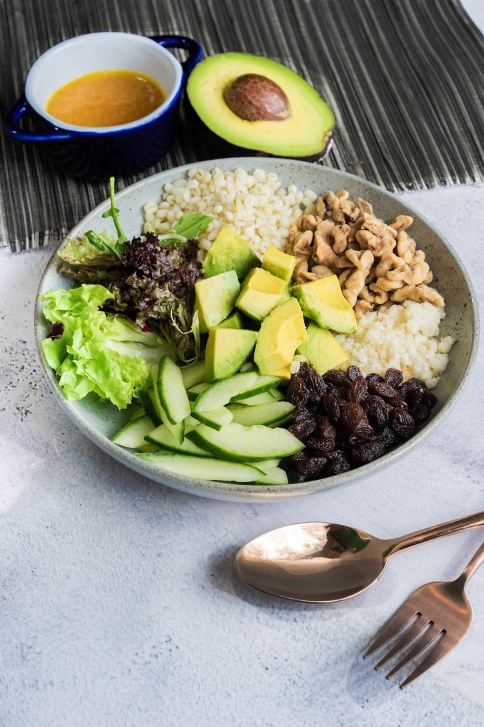 Avocado and Pearl Barley Salad