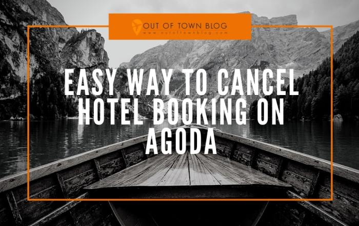 How to Cancel hotel booking on agoda.com