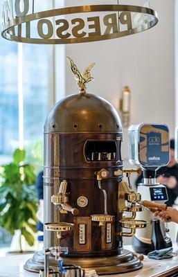 The Elektra Belle Epoque limited edition espresso machine