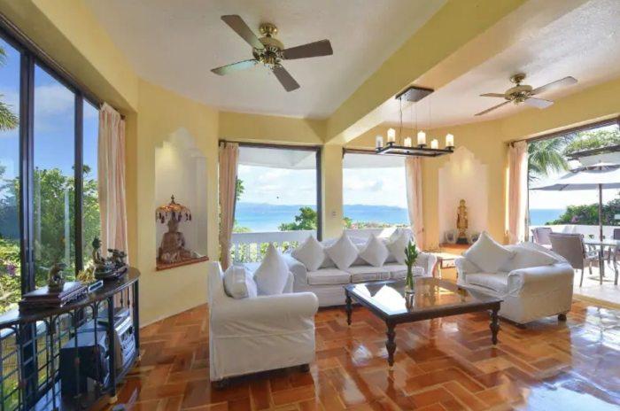 Airbnb with a view Tropicana Ocean Villas Boracay
