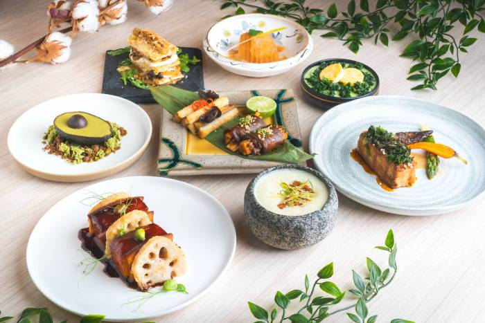 Chic modern Chinese vegetarian restaurant Miss Lee launches a new specialty menu inspired by the Chinese mythological 'Eight Immortals' – just in time for celebrating Father's Day