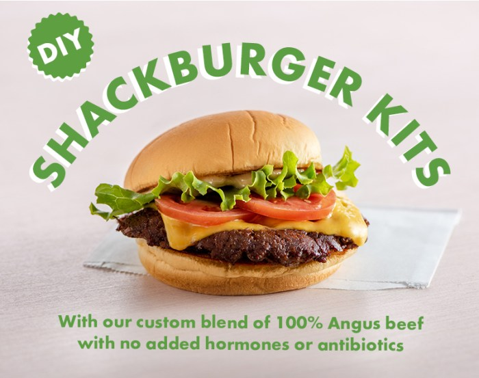 Manila fans can now enjoy Shake Shack's DIY ShackBurger Kits