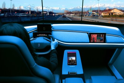 Pininfarina's responsive User Experience for the mobility of the future.