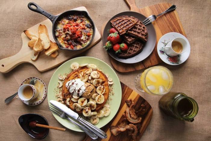 Breakfast Menu at Pamana Hawaiian Tsokolateria Baguio photo via FB Page
