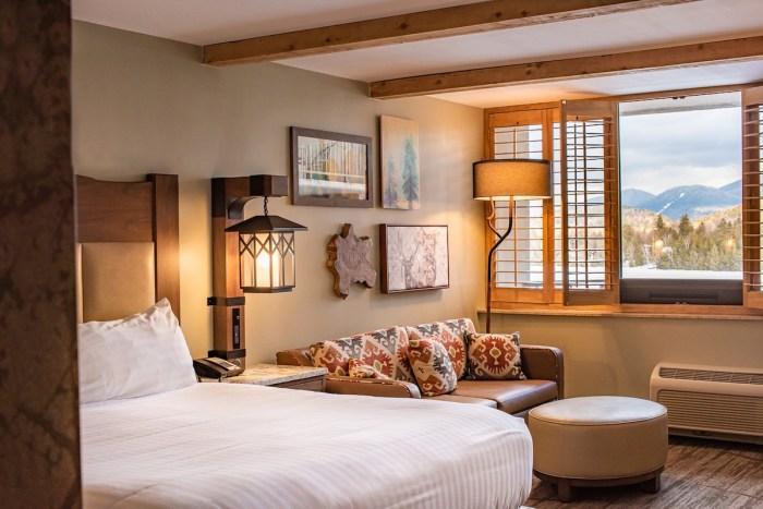 King Superior View-Hero Room at High Peaks Resort in Lake Placid