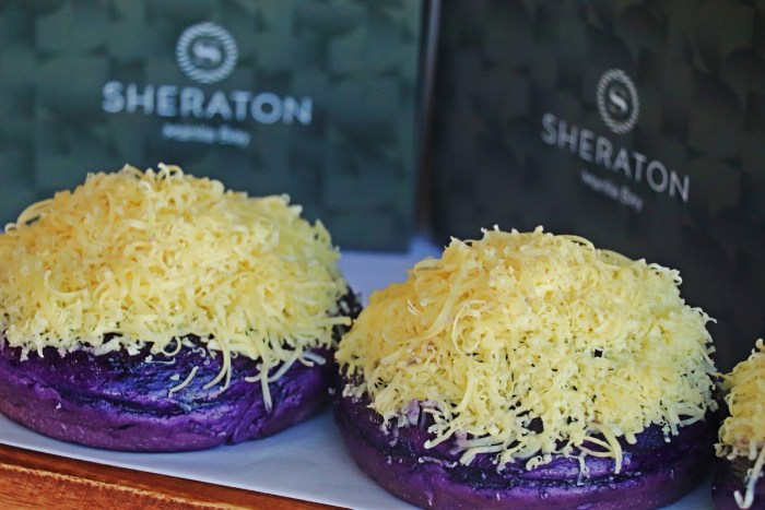 Papa's Ube Cheese Ensaymada at Sheraton Manila Bay