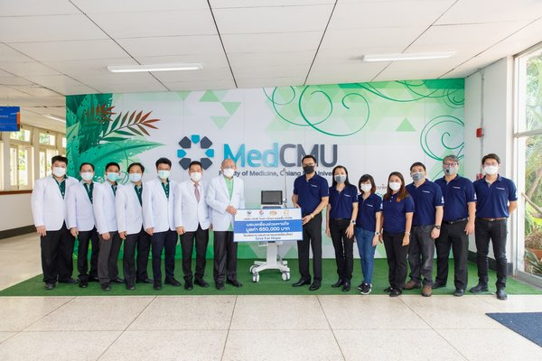 Donation of the 650,000-baht worth ventilator to Maharaj Nakorn Chiang Mai Hospital, Thailand