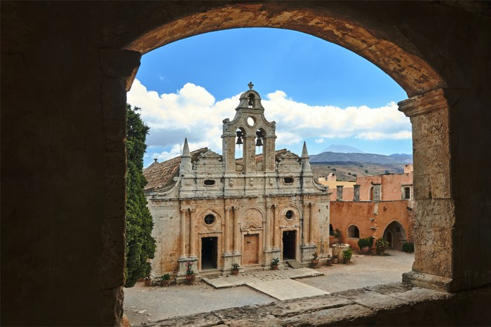 Arkadi Monastery photo via Depositphotos