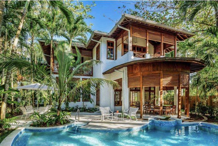 Beachfront luxury Palm Villa Airbnb Negril
