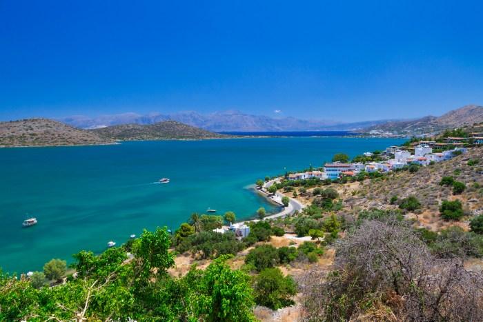 Mirabello Bay photos via Depositphotos