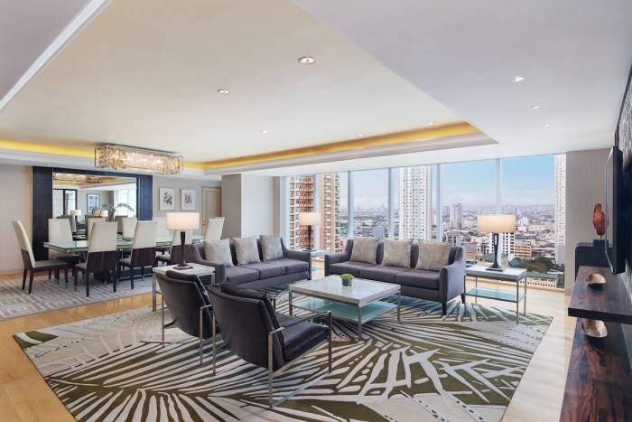 Sheraton Hotel Manila Bay Presidential Suite