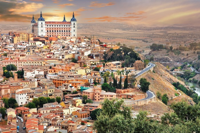Toledo - UNESCO World Heritage Sites in Spain photo via Depositphotos.com