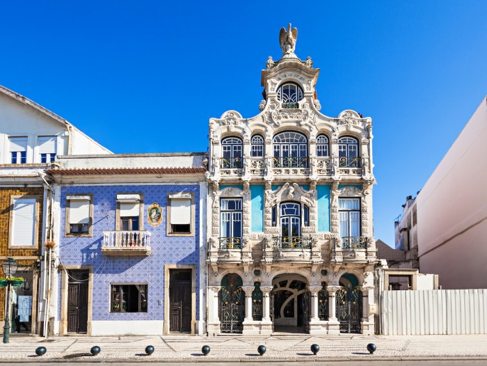Art Nouveau Museum in Aveiro photo via Depositphotos