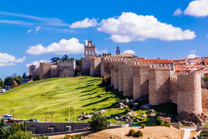 Avila, Spain - A UNESCO World Heritage Site photo via Depositphotos