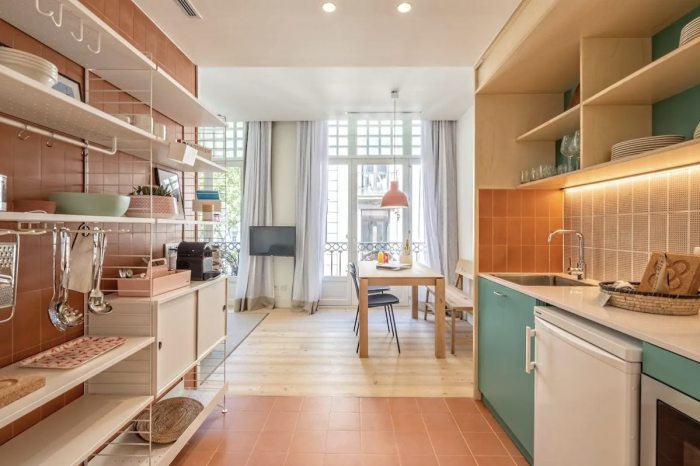 Barcelona serviced apartment in Las Ramblas