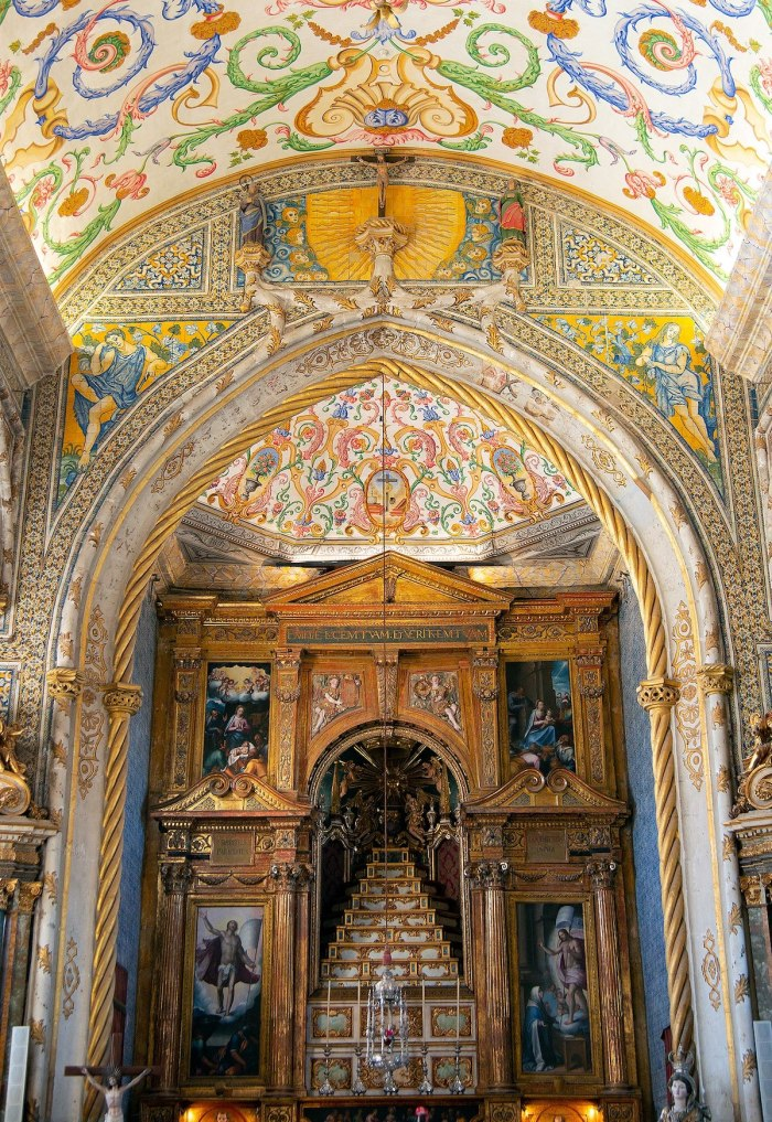 Chapel of Sao Miguel Coimbra by Peter K Burian via Wikipedia CC