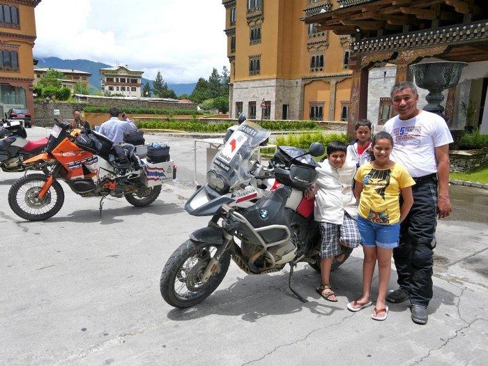 Explore Bhutan on motorbike