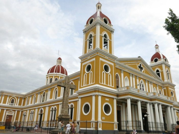 Granada Cathedral in Nicaragua