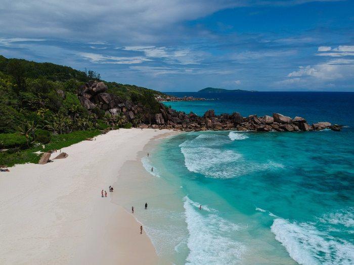 Grand Anse Beach in Seychelles by @mece via Unsplash