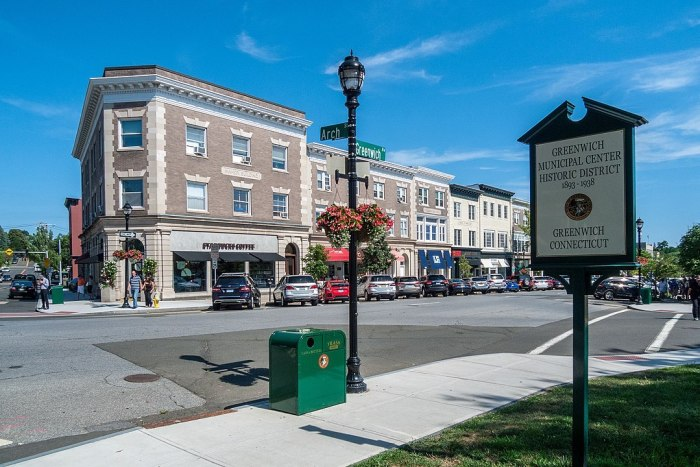 Greenwich Municipal Center Historic District, Connecticut