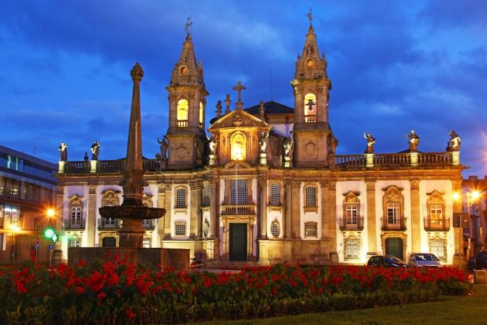Igreja da Sao Marcos in Braga photo via Depositphotos