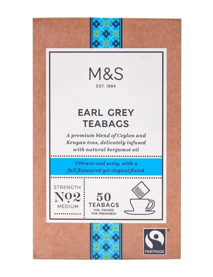 Marks & Spencer Earl Grey Tea, P235