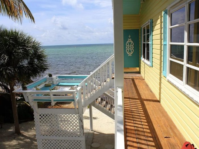 Oceanfront Islamorada Airbnb Rental with Private Beach, Beach Cottage and Kayaks