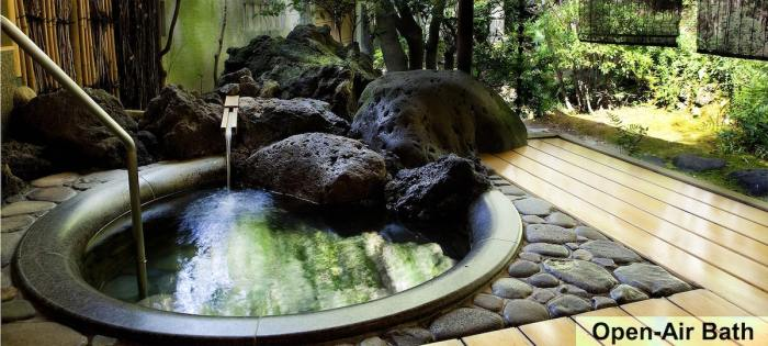 Private Onsen in Kinosaki
