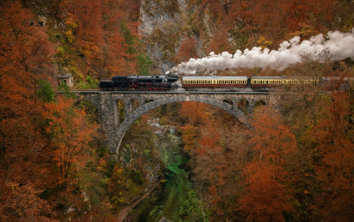 Home.fit Steam-Train-in-Slovenia-photo-via-Depositphotos Bled Bucket List: Top 15 Best Things to Do in Bled, Slovenia