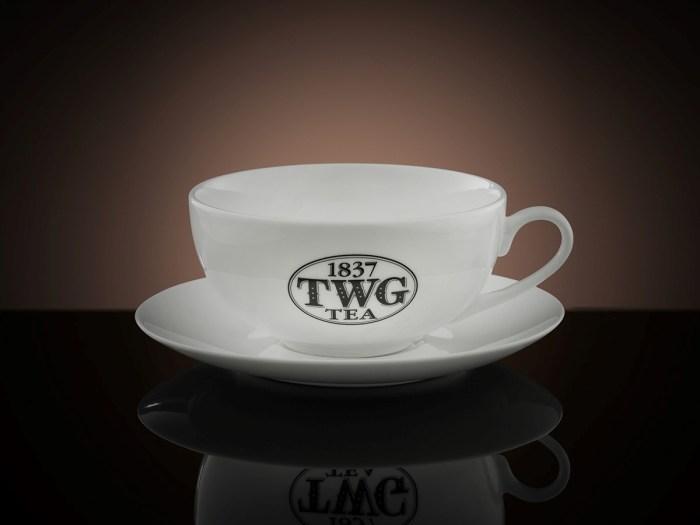 TWG Tea Morning Teacup & Saucer, P2,495