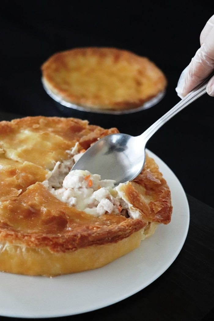 The New Culinary Courier Chicken Pot Pie