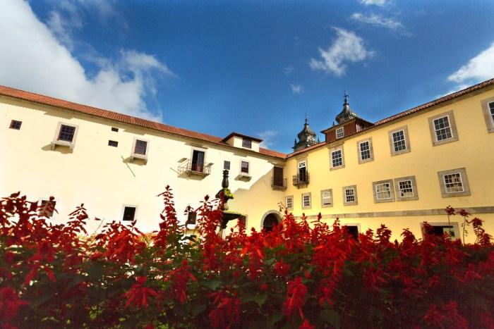 Tibaes Monastery of Sao Martinho photo via Depositphotos