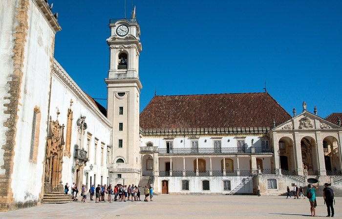 University of Coimbra by Peter K Burian via Wikipedia CC