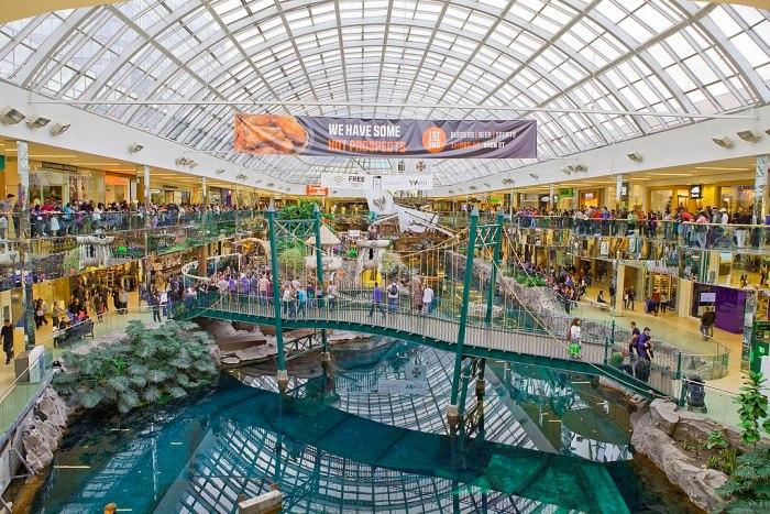 West Edmonton Mall in Alberta Canada by GoToVan via Wikipedia