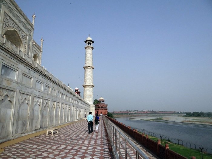 Home.fit Yamuna-River-beside-Taj-Mahal Agra Bucket List: Top 15 Best Things to Do in Agra, India